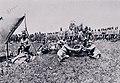 Vojaki 2. gorskega strelskega polka v zaledju pred zaključnimi boji na reki Piavi.jpg
