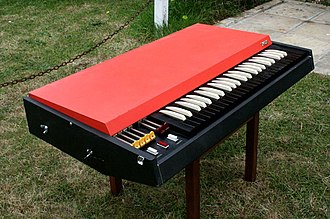 Combo organ - A Continental organ by Vox, the same model heard on Light My Fire by The Doors and In-A-Gadda-Da-Vida by Iron Butterfly.