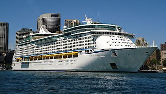 Voyager of the Seas - Image: Voyager of the Seas in Sydney