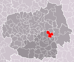 Location of Vrbice