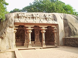 Varaha Cave Temple building in India