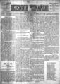 Wł. Tarnowski - Na śmierć Montalemberta - Dziennik Poznański - 1870, nr 87, str. tytułowa.png