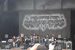 Heathen (band) - Image: W0843 Hellfest 2013 Heaven 66862