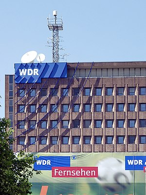 Westdeutscher Rundfunk - One of WDR's buildings in Cologne