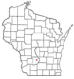 Location of North Freedom, Wisconsin