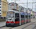 WL 129, Hauptbahnhof tram stop (Vienna; street level), 2019 (01).jpg