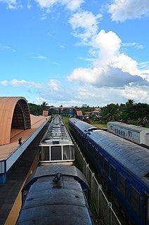PNR South Main Line Philippine rail line