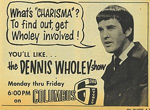Dennis Wholey - WTVN-TV advertisement for the Dennis Wholey Show