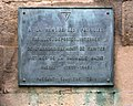 WW II plaque outside St. Pierre Cathedral, Saintes.JPG