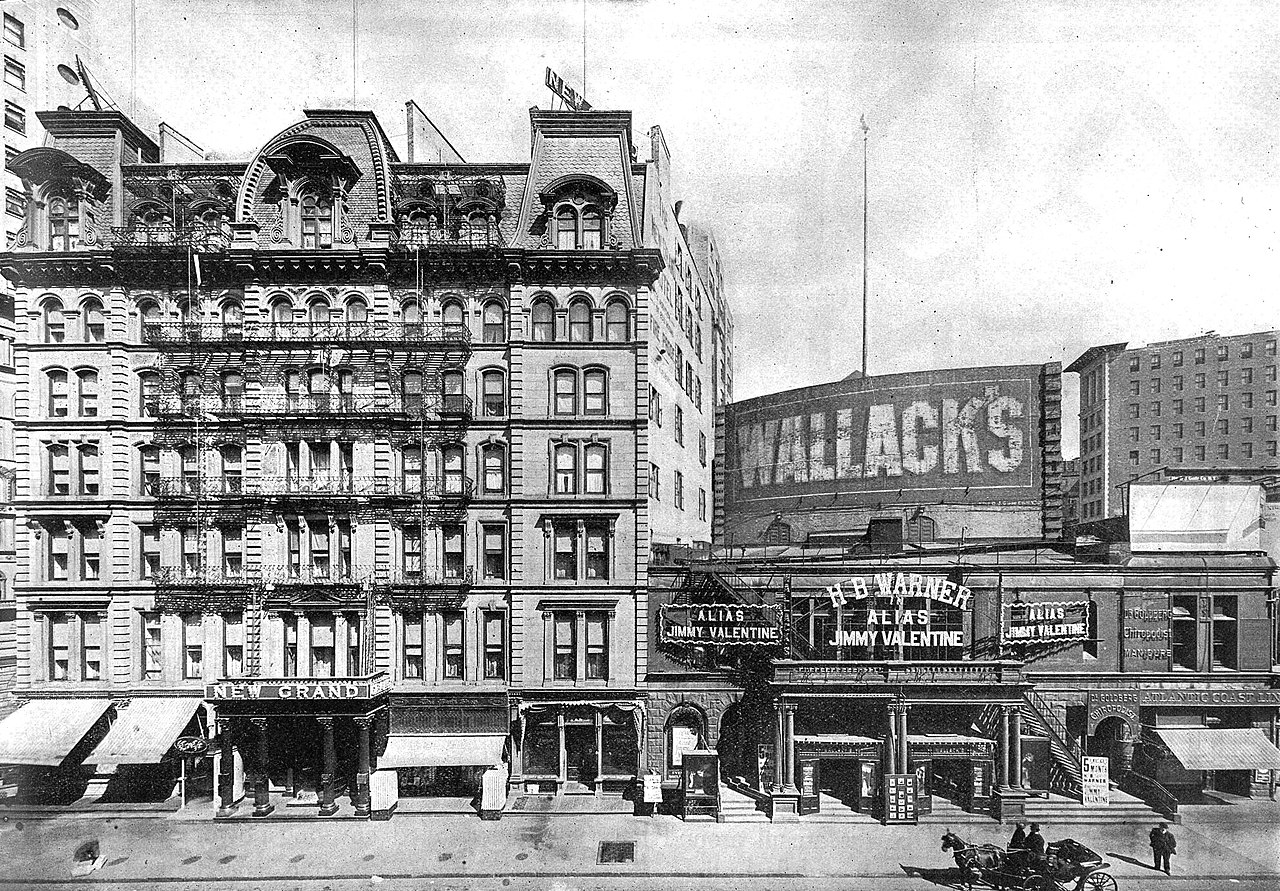 File wallack 39 s theatre right and new grand hotel new for Grand tableau new york
