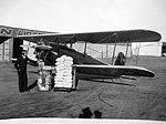 Walter NZ-120 a Spartan C3-2 po rekordním letu Detroit-Kuba 1800 mil nonstop, pilot Leonard Flo (listopad 1928).jpg