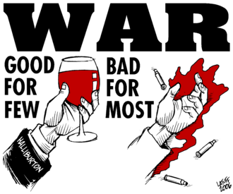 Anti-war movement - An anti-war poster