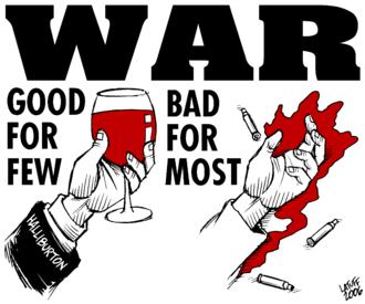 Anti-war movement - An anti-war poster