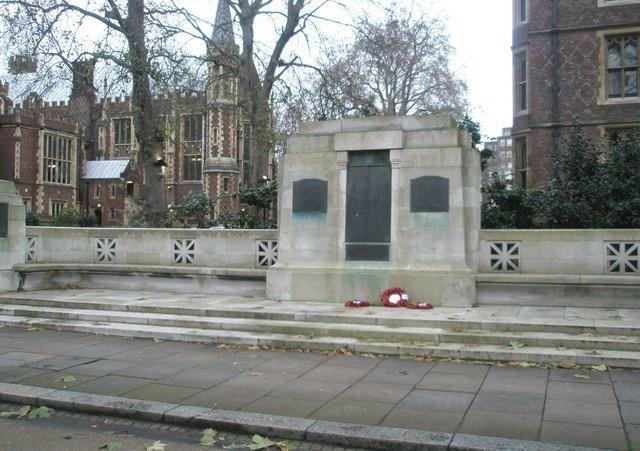 Lincoln's Inn War Memorial