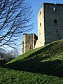 Warkworth Castle, the Gatehouse and Montague Tower - geograph.org.uk - 307744.jpg
