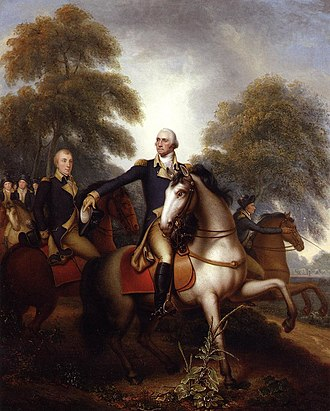 Blueskin (horse) - Image: Washington Before Yorktown Rembrandt Peale 1823