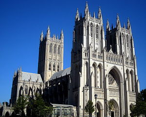 1990 in the United States - September 28: Washington National Cathedral completed