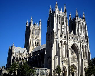 America's Favorite Architecture - Image: Washington National Cathedral in Washington, D.C