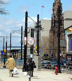 Washington Park station (Newark Light Rail)