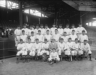 History of the Washington Senators (1901–1960) - Image: Washington baseball LCCN2016890155 (cropped)