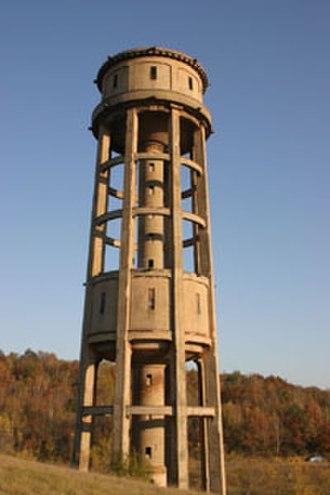 Lauta - Image: Wasserturm Lauta