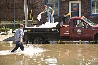 Waterloo, Iowa - June 12, 2008