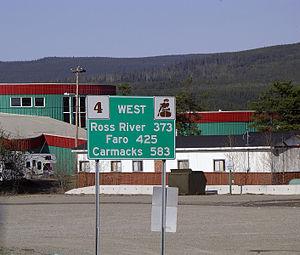 Watson Lake, Yukon - Carmacks 583 kilometres
