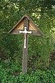 Wayside cross near Duby u Hrotovic in Hrotovice, Třebíč District.jpg