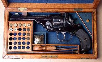 """Webley & Scott - Webley """"WG"""" Army Model (a.k.a. Webley Government) Revolver cal 455/476 (.476 Enfield)"""