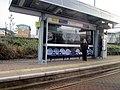 Wednesbury Metro Station Platform and Shelter (geograph 4853321).jpg