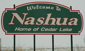 Welcome Sign Nashua, Iowa.JPG