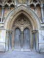 Wells cathedral west main door.jpg