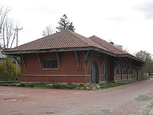 Wellsville, New York - Erie Railroad Depot, Wellsville, NY