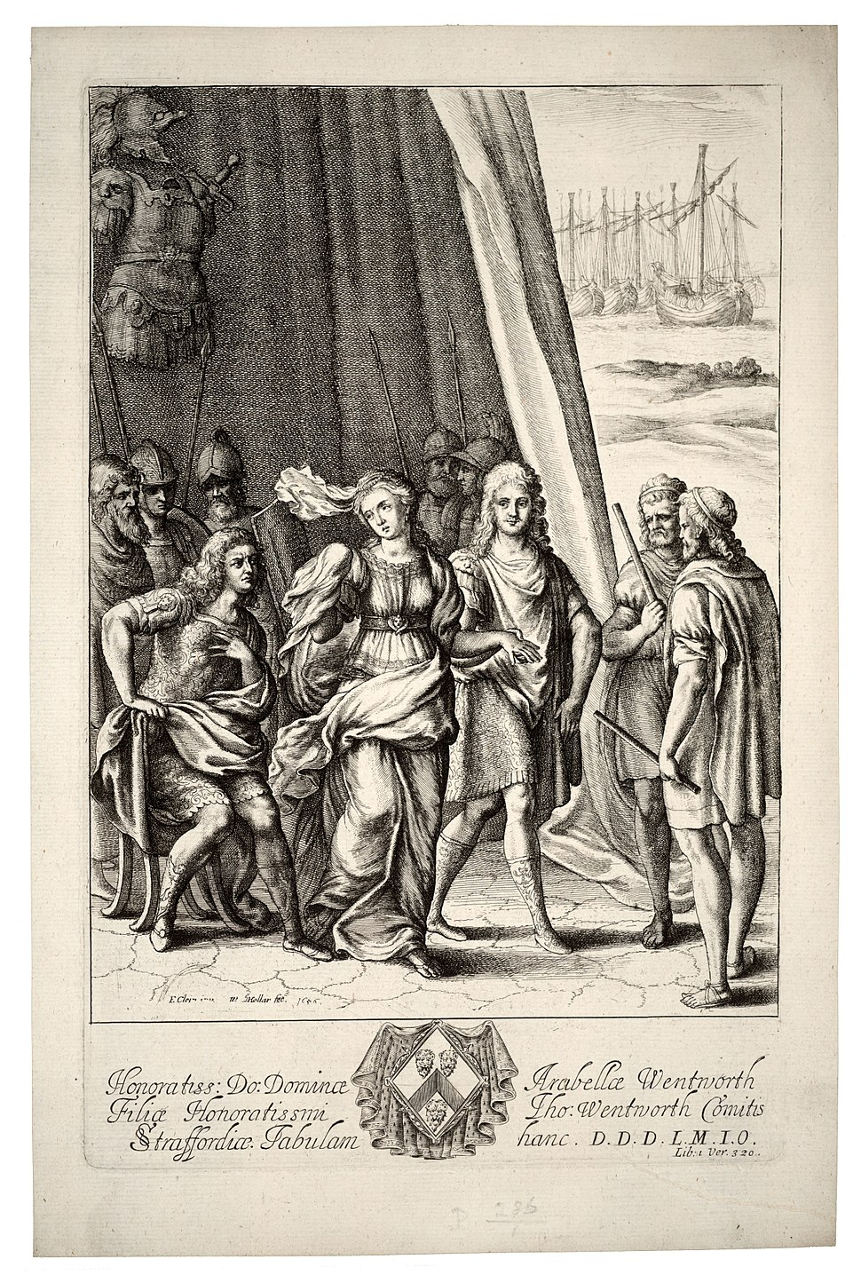 Wenceslas Hollar - Briseis and Achilles