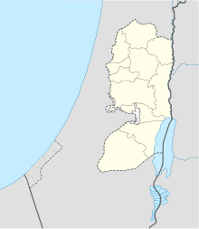 Shechem is located in the West Bank