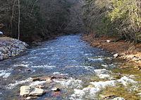 West Branch Fishing Creek looking upstream near Elk Grove.JPG