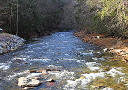 West Branch Fishing Creek looking upstream near Elk Grove.JPG
