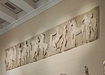 West zofor of Parthenon - replica in Pushkin museum 01 by shakko.jpg