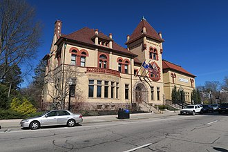 Westerly (CDP), Rhode Island - Westerly Public Library