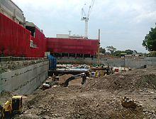 64c73434b442e1 Redevelopment of former main entrance