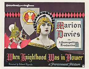 Description de l'image  When knighthood was in flower 1922 - publicityhalfsheet.jpg.