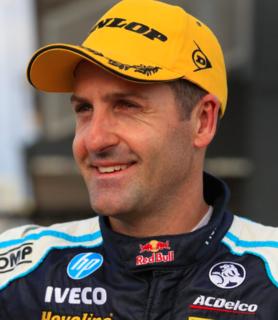 Jamie Whincup Australian racing driver