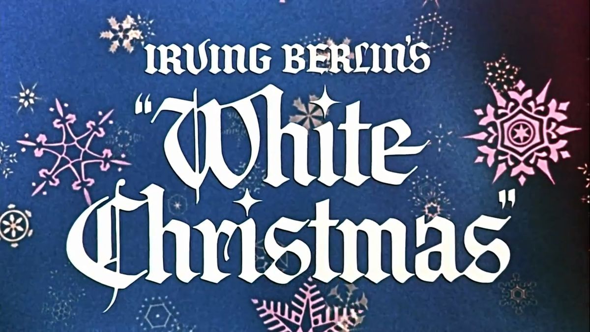 Christmas cheer and white christmas by irving berlin