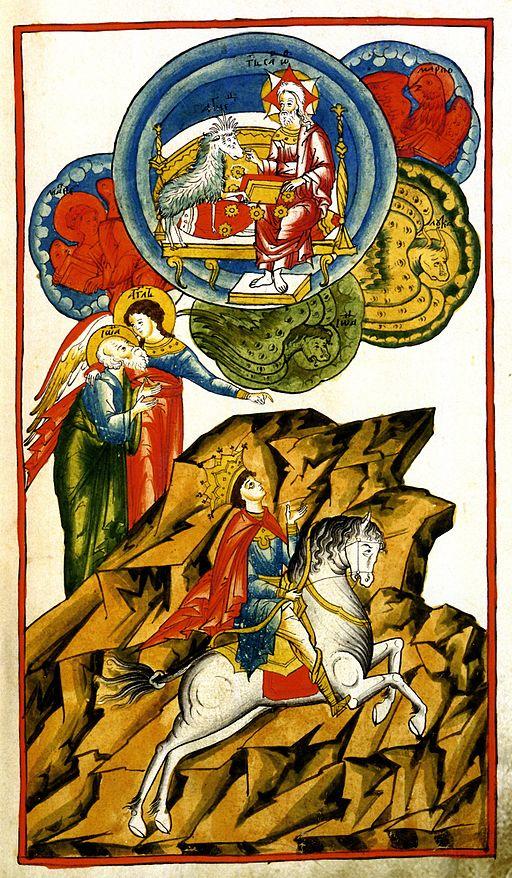 White Rider from Tolkovy Apocalyps 17th century