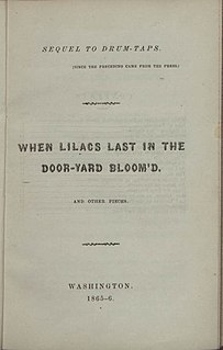 <i>Sequel to Drum-Taps</i> Book by Walt Whitman