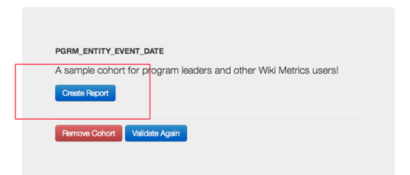 Wikimetrics training create cohort button.png