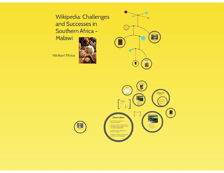 File:Wikipedia, challenges and successes in Malawi.pdf
