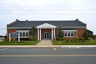 Wildwood Crest, New Jersey - Public library