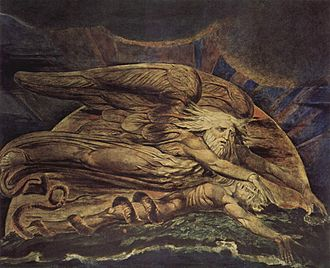 Adam - And Elohim Created Adam, William Blake