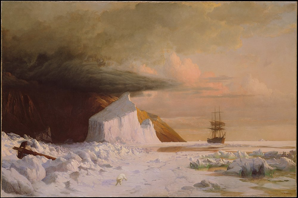 William Bradford - An Arctic Summer, Boring Through the Pack in Melville Bay.jpg